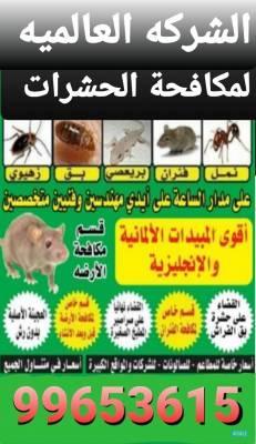 مكافحة ح - محافظة الفروانية - مكافحة الحشرات - مقاولات وحرف - خدمات -  اعلانات الكويت