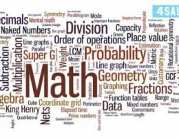 🔸 مدرسة رياضيات وإحصاء لطلاب الجامعات وا
