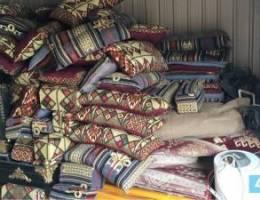مخارن مخيمات وكونتينرات في الوفرة
