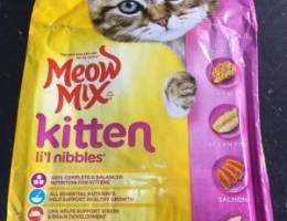 للبيع اكل اقطاوه جميع الانواع مع القطط و